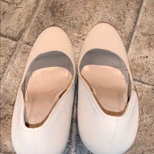 Charlotte Russe Shoes - Charlotte Russe Platform Nude Heels